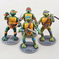 4 Teenage Mutant Ninja Turtles Film Movie Action Figuren Fig