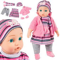 Babypuppe interaktive Spielpuppe Weichkörperpuppe KP4839 NE