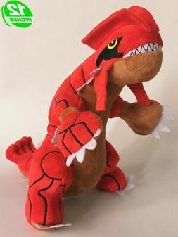"Groudon 30cm 12"" Anime Game Stuffed Animal Plush Soft Toy Fi"