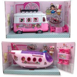 LOL Surprise Original House Dolls Airplane Toys Anime Figure