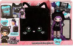 Na! Na! Na! Surprise 3-in-1 Backpack Bedroom Black Kitty Pla