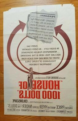Original Film Poster - Haus Von 1000 Puppenhaus - 1967 Ameri