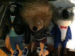 Packung Mit 6 Singe The Movie Puppe Plüsch Buster Meena Joh
