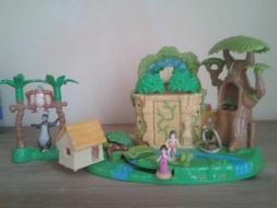 Polly Pocket 1998 Disney Jungle Book Dschungle Buch 100% kom