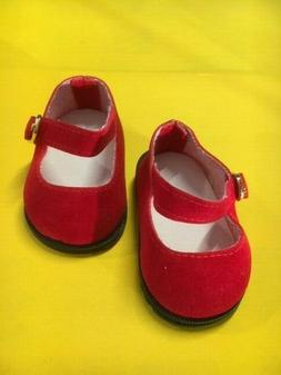 Schildkröt Puppen Schuhe  rot Gr.25  0025178  NEU