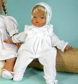 Schildkröt Spielpuppe Baby Puppe 32 cm mit Stoffkörper 144