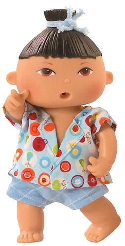Spiel Puppe Trink Baby Näß Baby Guido ca 21 cm von Paola R