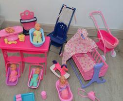 Simba Steffi Love Doll Puppe 90s Set Baby Set : Buggy Babies